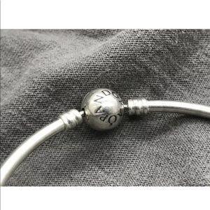 Pandora bangle with charms